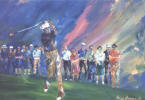painting of legendary golfer Ben Hogan