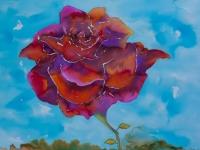 Rose Red Batik